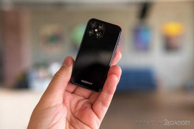 Крошечный смартфон Mony Mint по цене 100 долларов (6 фото)