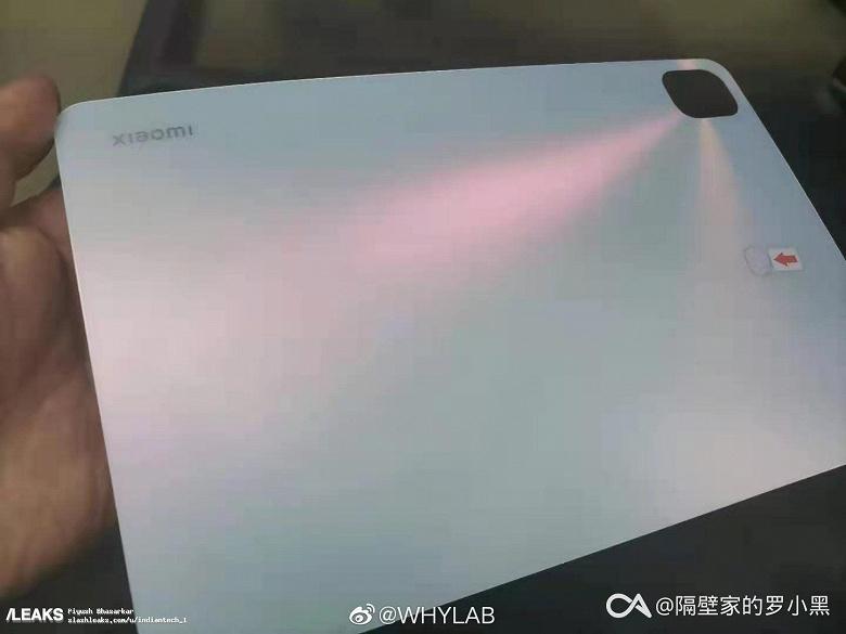 Новейший планшет Xiaomi Mi Pad 5 впервые «засветился» на руках у пользователя