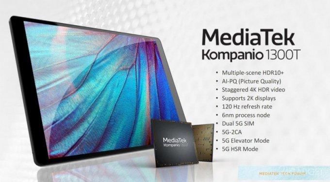 Представлен новый флагманский процессор MediaTek для планшетов