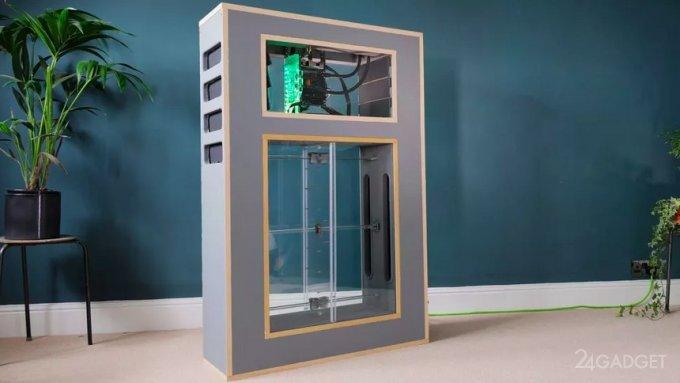 Разработан компьютер с «дышащей» системой охлаждения (видео)