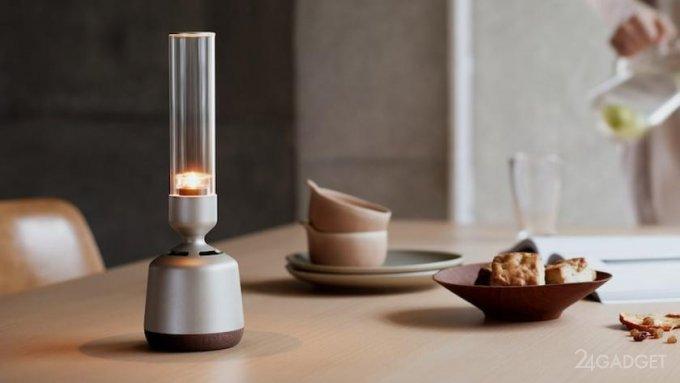 Стеклянная колонка-свеча Sony LSPX-S3 создаст интимную атмосферу с кристально чистым звуком