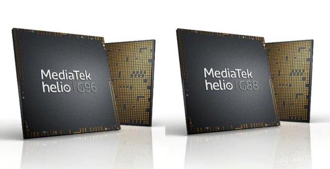 MediaTek представил новые процессоры Helio G88 и Helio G96 для смартфонов премиум класса