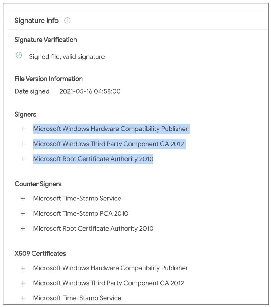 Microsoft по ошибке одобрила вирусный драйвер для Windows