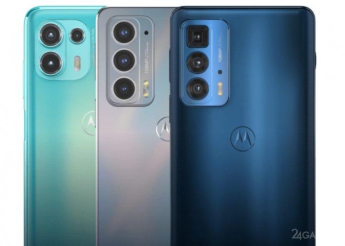 Motorola презентовала линейку смартфонов Edge 20 с 108 Мп камерой (3 фото)