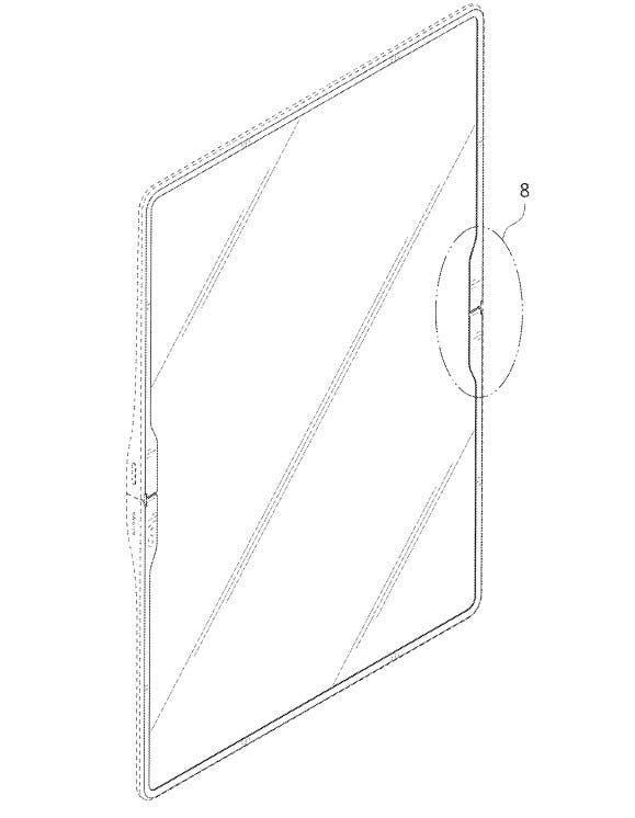 Samsung создаст планшет с большим гибким экраном