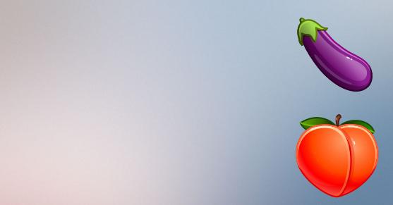 Telegram обвинили в сексуализации эмодзи персика и баклажана