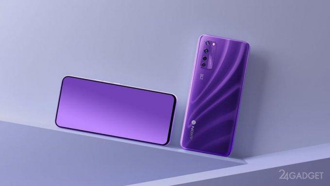 ZTE начинает рекламировать смартфон Axon 30 с подэкранной камерой нового поколения (2 фото)