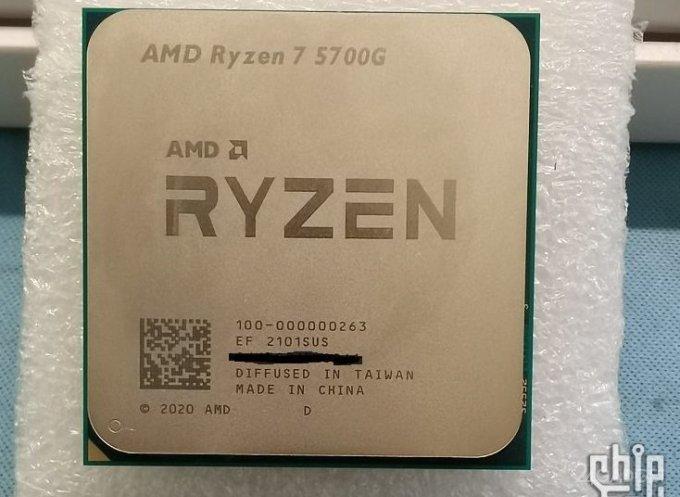 Процессор AMD Ryzen 7 5700G протестировали в игровом режиме (12 фото)