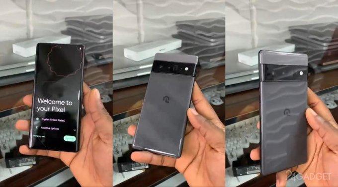 Опубликовано видео с еще не анонсированным смартфоном Google Pixel 6 Pro (видео)