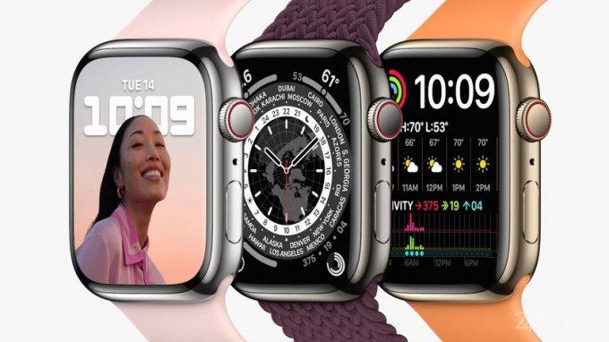 Опубликованы уточненные технические характеристики Apple Watch Series 7 (2 фото)