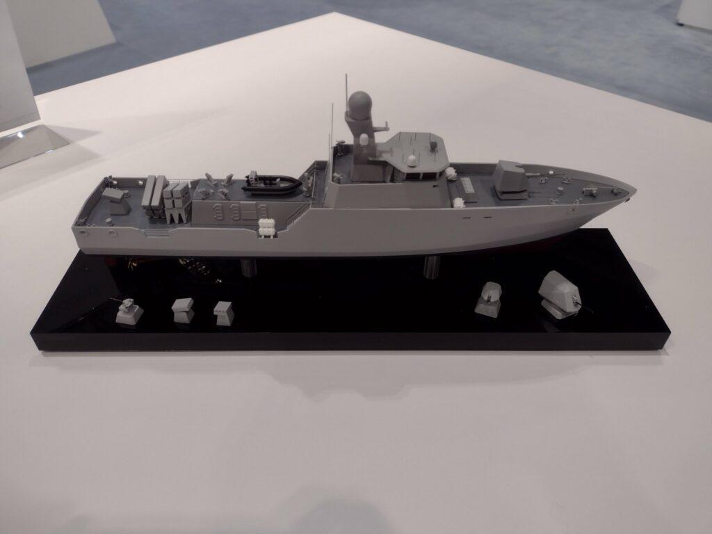 Показана внешность перспективного корабля для ВМС Украины