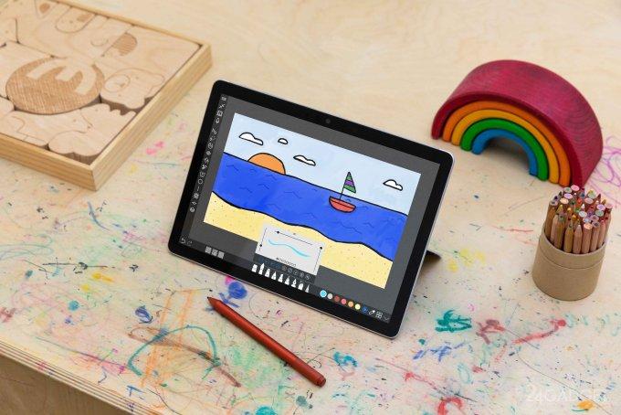 Представлен самый дешёвый ноутбук-трансформер Microsoft Surface Go 3 (видео)