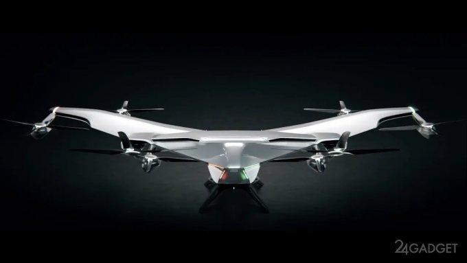 Представлен NextGen – «самолет Бэтмена» от Airbus (видео)