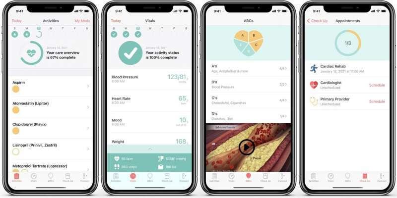 Создано эффективное мобильное приложение для восстановления людей после сердечного приступа
