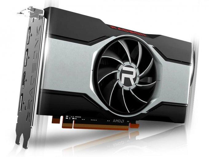 AMD выпустил бюджетную видеокарту Radeon RX 6600 для комфортного FullHD гейминга
