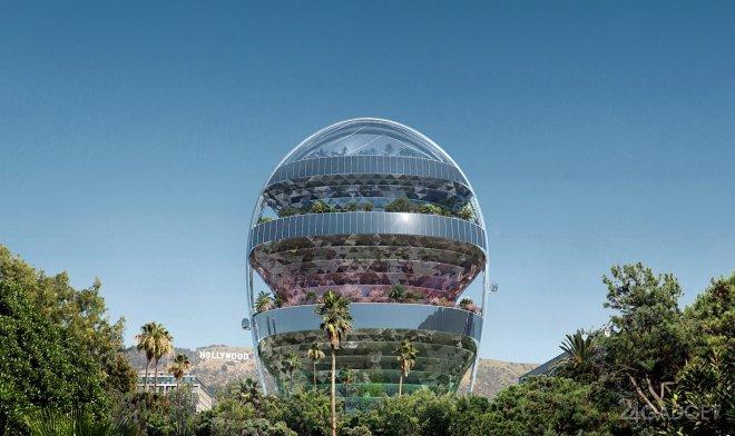 В Голливуде построят «зеленую офисную башню» (2 фото)