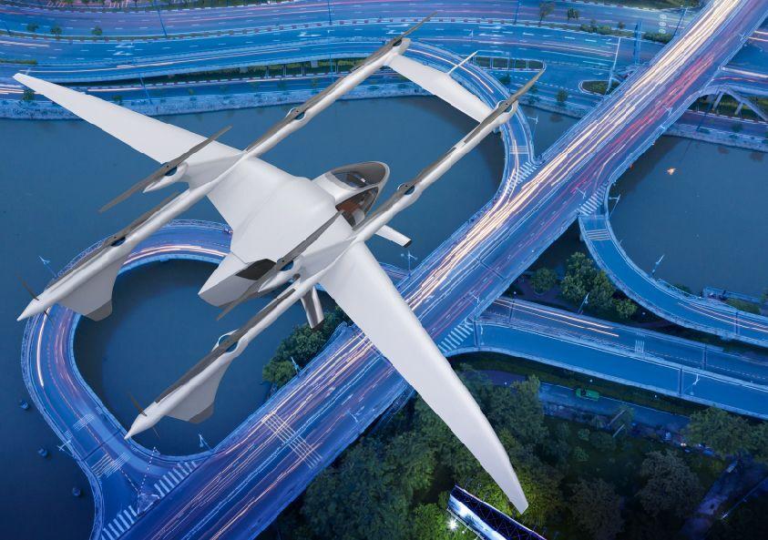 В Китае показали пассажирское аэротакси, летающее на дальнее расстояние