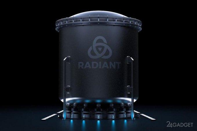 Компания Radiant разрабатывает компактные ядерные реакторы для замены дизельных генераторов (2 фото)