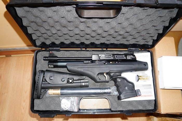 Названы самые мощные в мире пневматические пистолеты