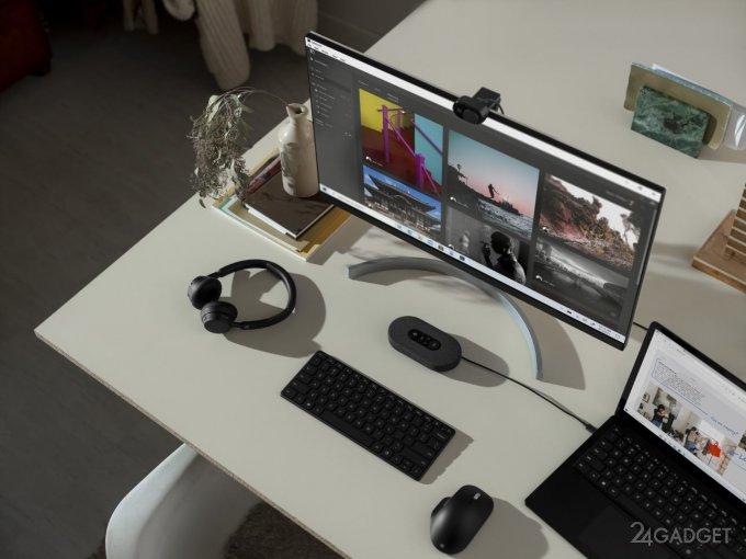 Наушники с шумоподавлением и веб-камера с HDR: Microsoft запускает новые аксессуары в России (7 фото)