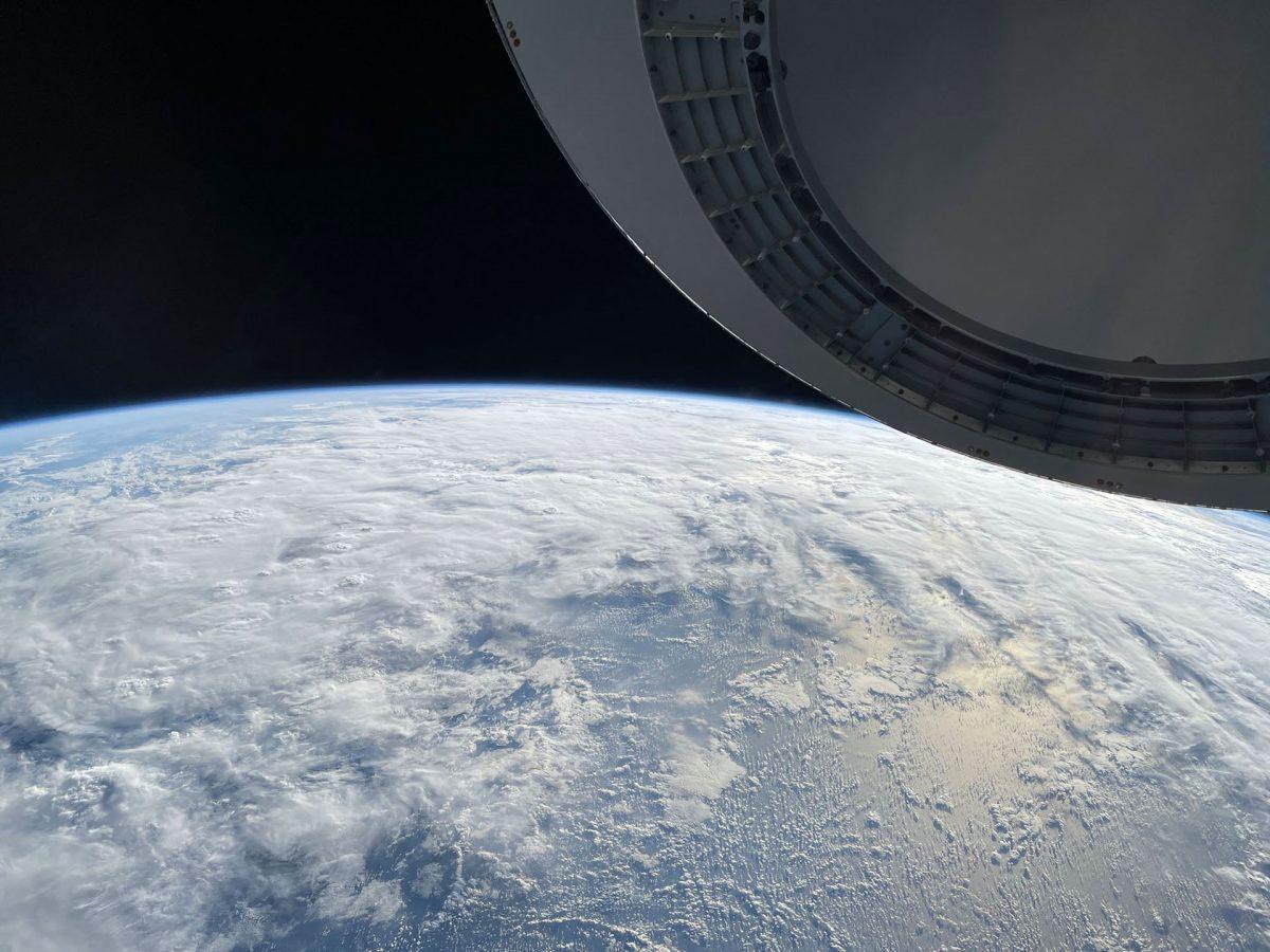 Опубликовано видео, снятое на iPhone 12 в космосе