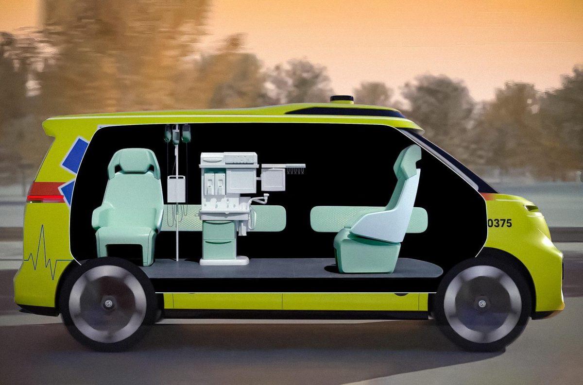 Volkswagen создаст беспилотные машины скорой помощи