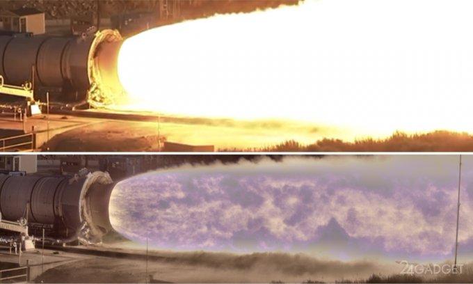 Демонстрация возможностей новой видеокамеры NASA (видео)