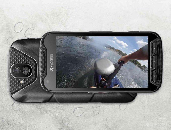 Kyocera DuraForce Pro — первый в мире смартфон с экшн-камерой (5 фото + видео)