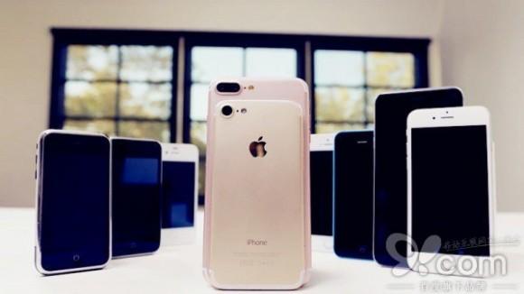 iPhone 7 сравнили со всеми прошлыми iPhone на видео
