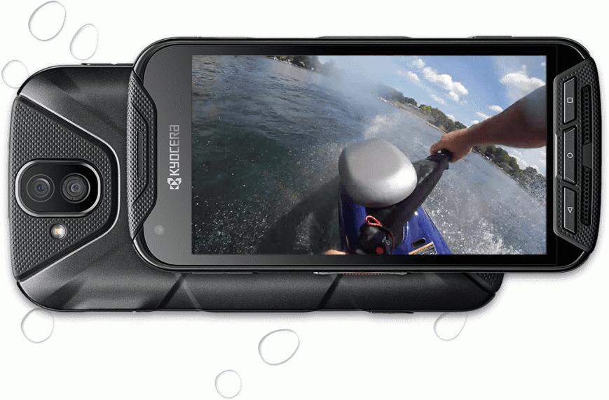 Защищенный смартфон Kyocera DuraForce Pro получил встроенную экшн-камеру