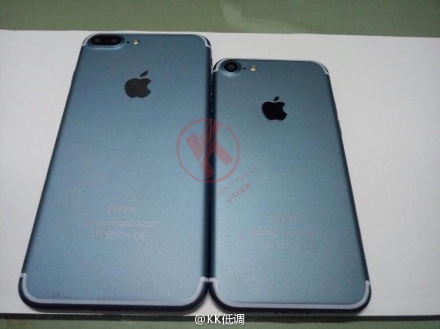 """iPhone 7 цвета """"черный космос"""" показался на фото"""
