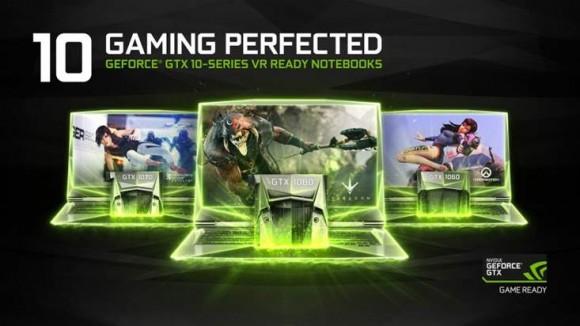 NVIDIA представила графику GeForce GTX 10 на базе Pascal для ноутбуков