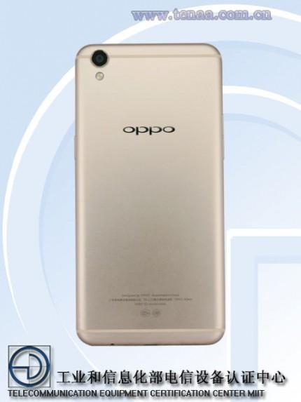 Китайцы показали металлический Oppo R9s