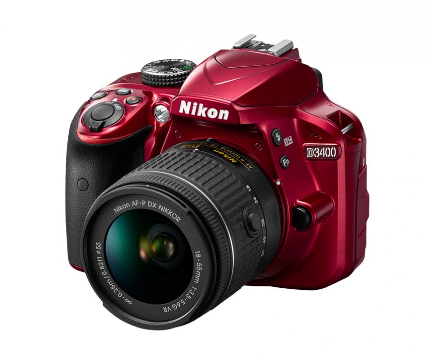 Nikon представила зеркалку D3400 начального уровня