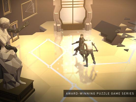 Мобильная игра Deus Ex GO доступна для iOS