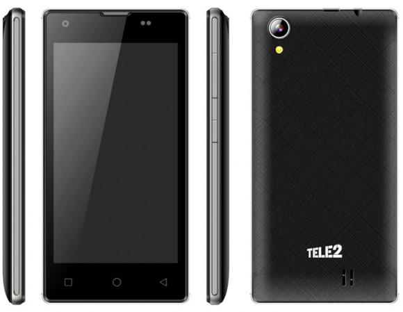 Tele2 предлагает смартфон на Android 6.0 Marshmallow за 2 890 рублей