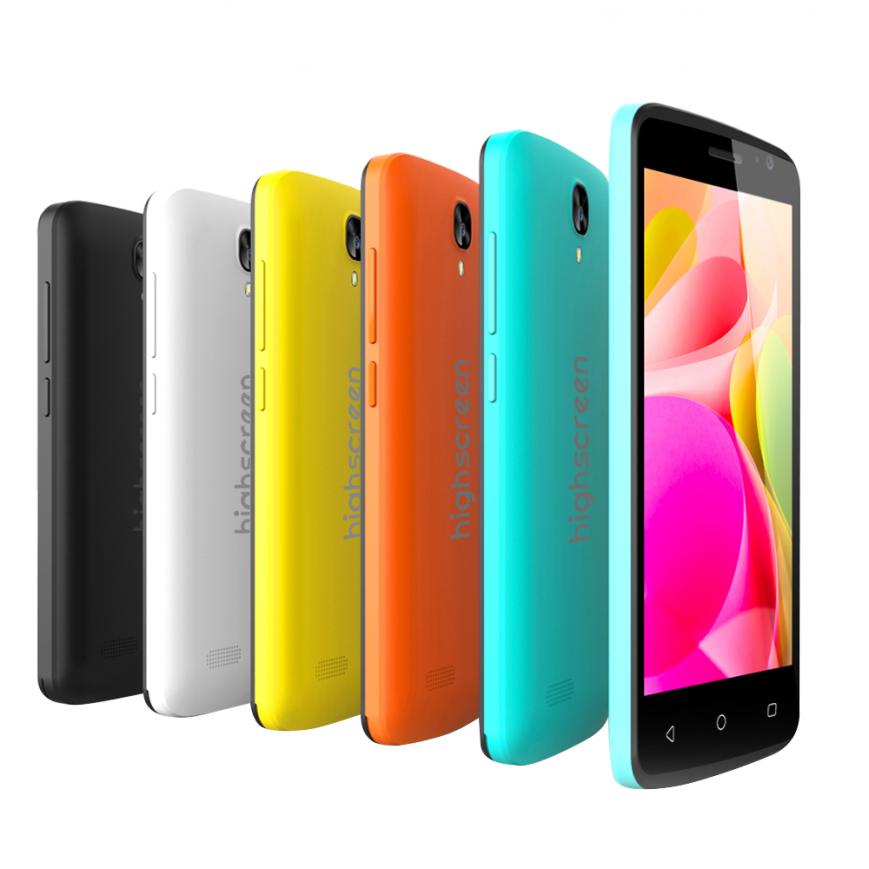 Яркий смартфон Highscreen Easy F Pro доступен дешевле 4,5 тысяч рублей