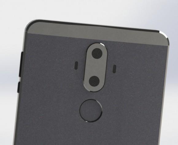 Смартфон Huawei Mate 9 показался на рендерах