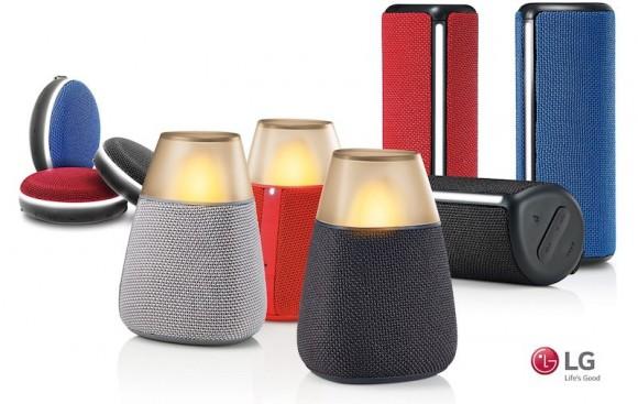 LG анонсировала новую линейку Bluetooth-динамиков