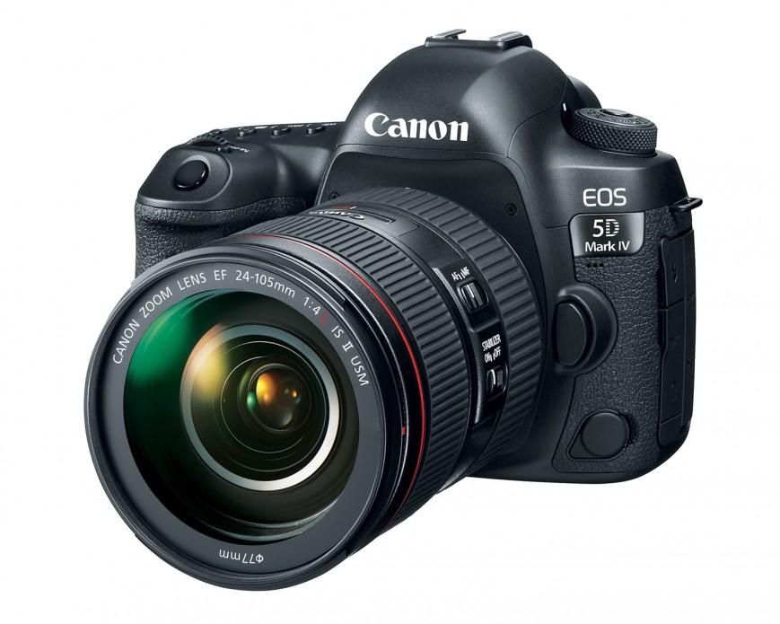 Canon представила полнокадровую зеркалку EOS 5D Mark IV