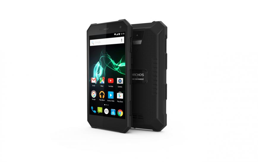 IFA 2016: прочный смартфон Archos 50 Saphir выдержит мороз и жару