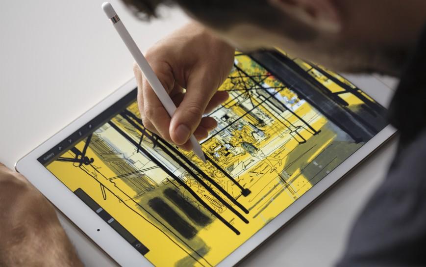 Будущий iPad Pro получит ускоренный дисплей и улучшенный стилус