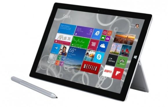 Microsoft починила батарею Surface Pro 3 программным апдейтом