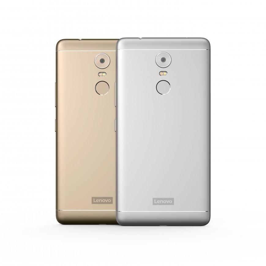 IFA 2016: Lenovo показала серию металлических смартфонов К6