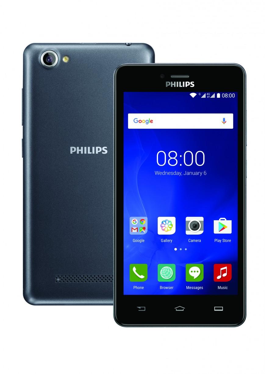 Смартфон Philips S326 со встроенным пультом ДУ выходит в России
