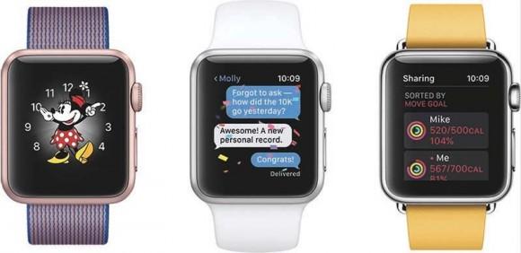Apple выпустила watchOS 3