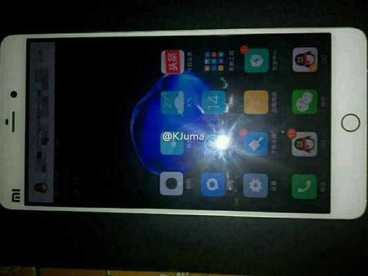 Смартфон Xiaomi Mi 5s показался на живом фото