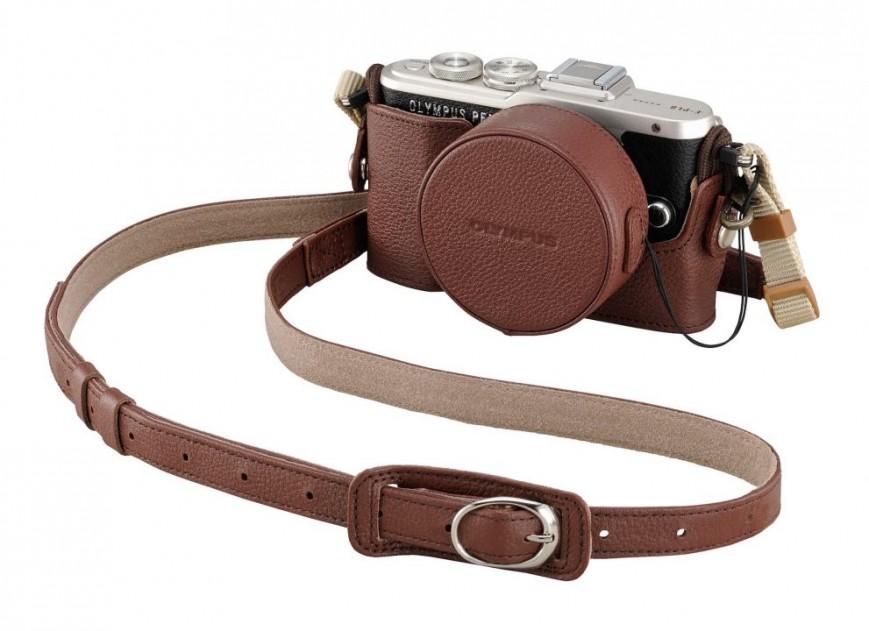 Olympus представила стильную ретро-беззеркалку PEN E-PL8