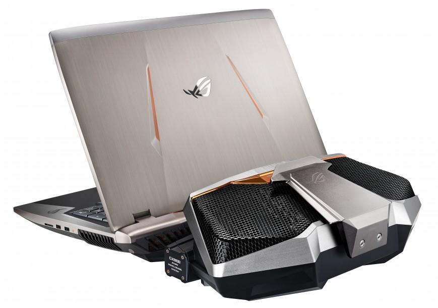 ASUS представила мощные ноутбуки с графикой Pascal в России