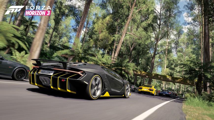 Состоялся релиз игры Forza Horizon 3